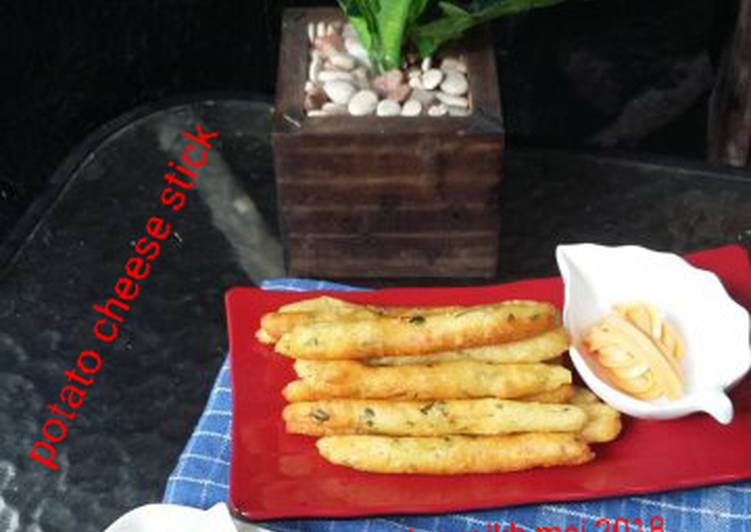 Potato cheese stick ala bunda jkb #BikinRamadhanBerkesan