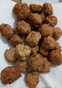 Keto Fried Meat Balls (Baso goreng keto)