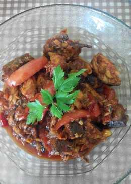 Suwir Tongkol sambel tomat
