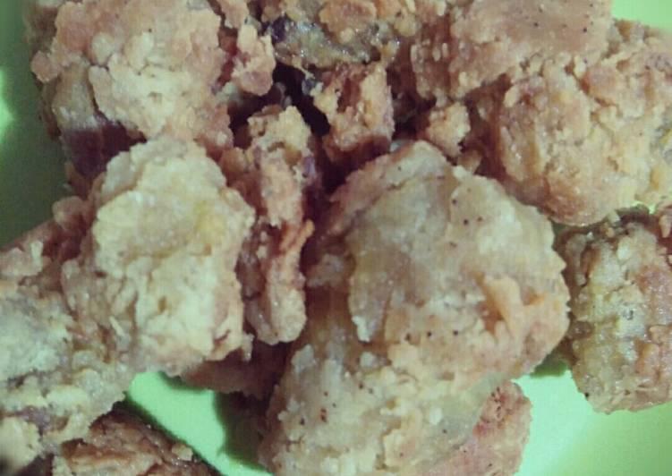 Ayam Goreng Crispy #BikinRamadanBerkesan
