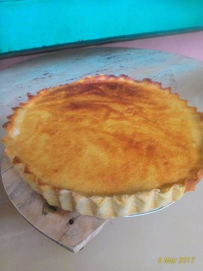 Cheese tart ubi kuning