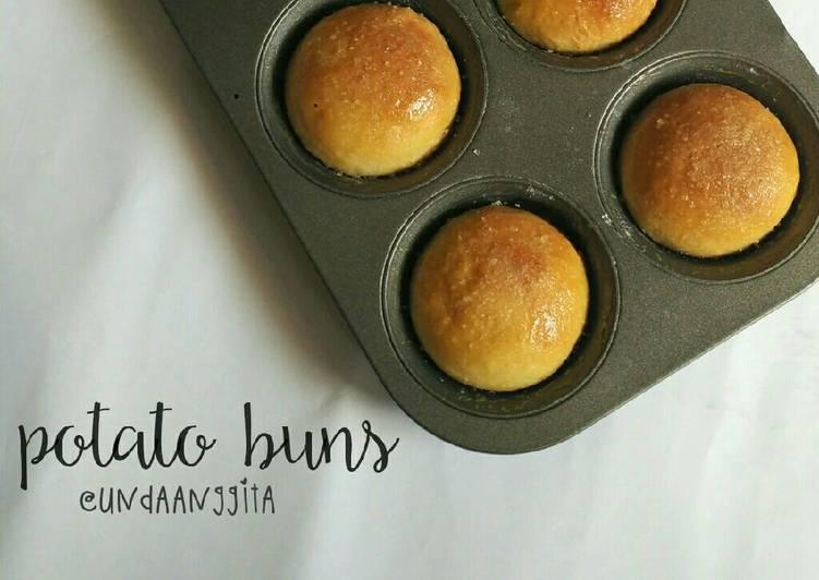 Resep Potato Buns (donat kentang panggang) Kiriman dari Unda Anggita