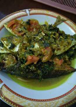 Ikan kembung masak Manado