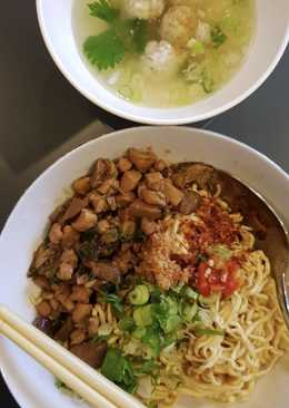 Mie Ayam Jamur Shitake