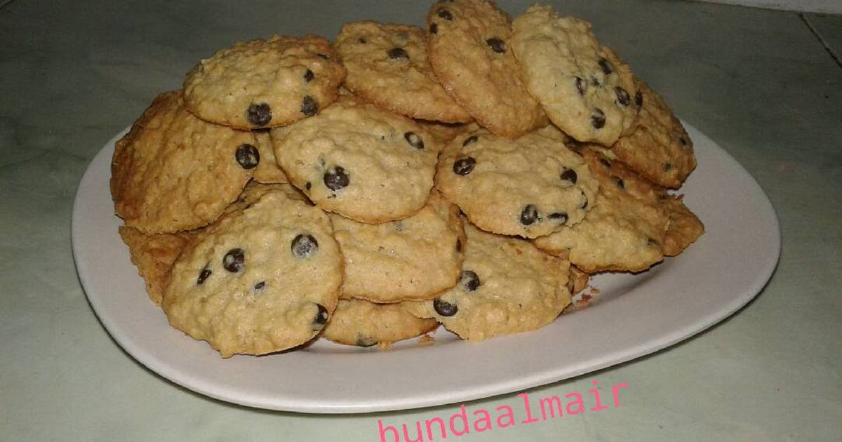 Resep Cookies Oatmeal cemilan fav. Bocil
