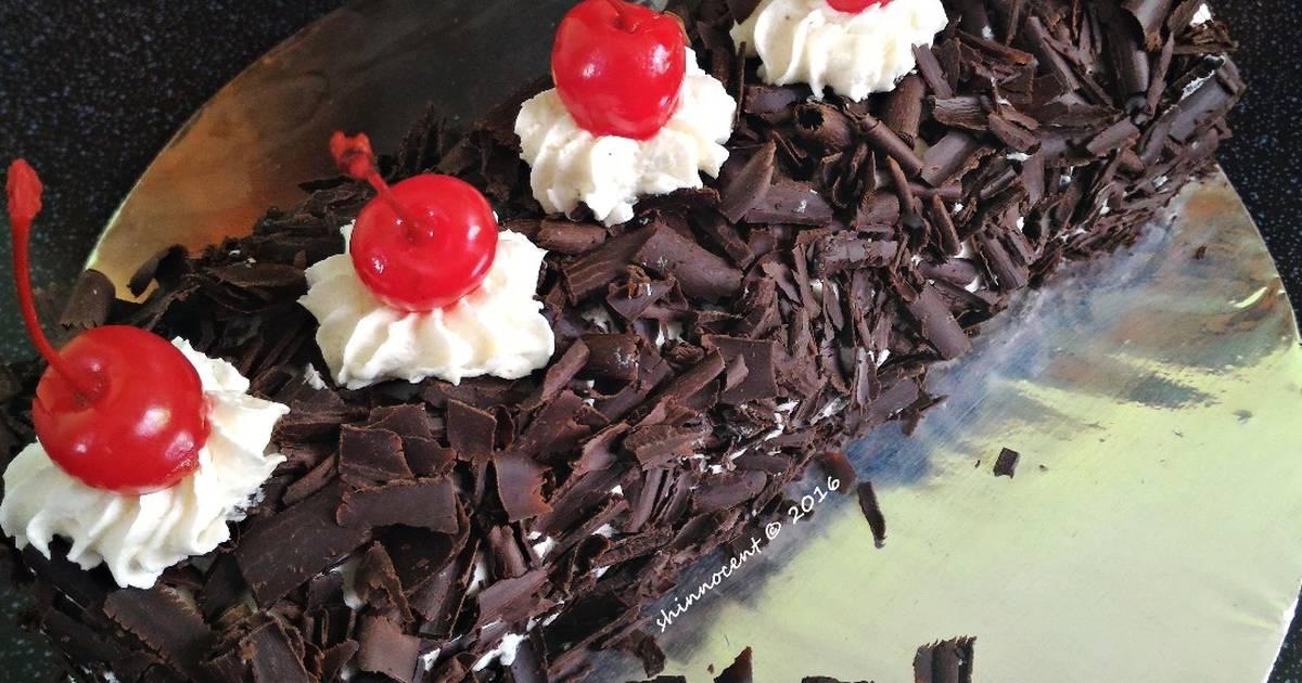 Resep Blackforest Roll Cake