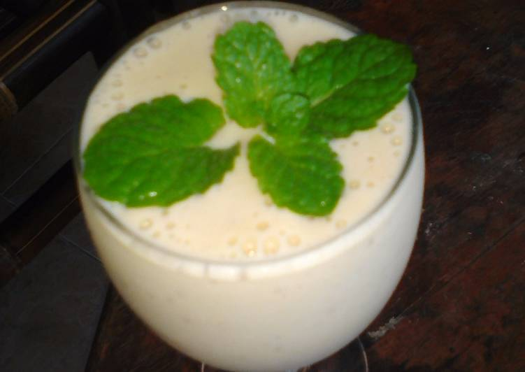 Smothie pisang yogurt (2 bahan) #prRamadhan_Takjil