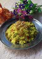 Nasi goreng kunyit udang kering #Bandung_recookgiacintapermana