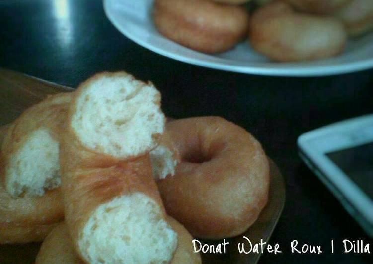 Resep Donat Water Roux yang ditulis Dil La dapat disajikan  Resep Donat Water Roux Karya Dil La