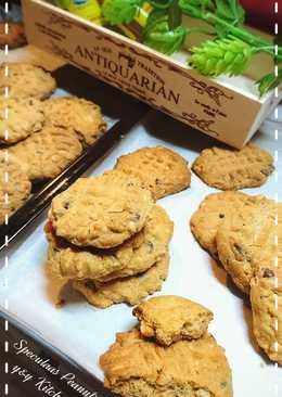 Speculaas peanuts cookies