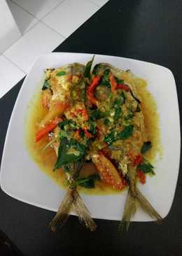 Ikan kembung kuning daun kemangi