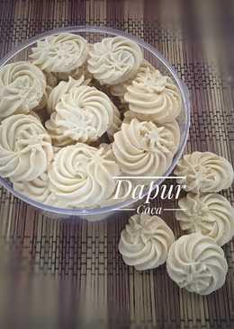 Semprit Sagu / Kue Kering Sagu / Kue Kering Tapioka