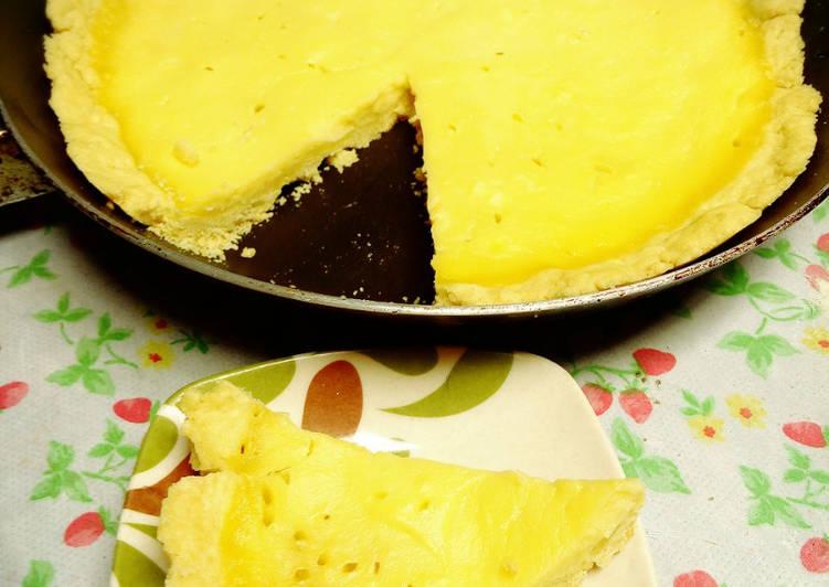 Resep Pie Susu Teflon Simpel - E_Kara
