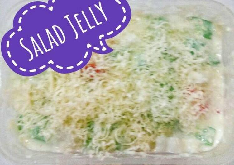 gambar untuk cara membuat Salad Jelly