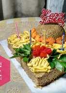Kue Ulang tahun Mie / Indomie Instan Super Ngirit