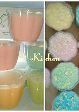 Silky pudding pop ice (puyo)