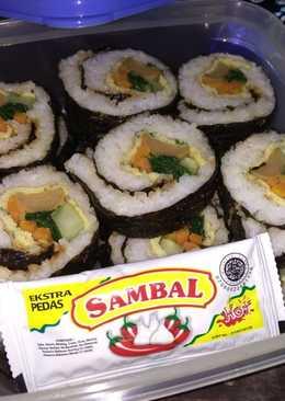Gimbap Variasi (Sushi Indonesia)