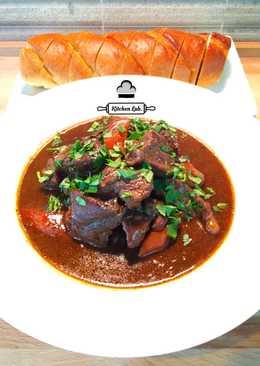 Beef-beer (Irish) stew