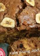 Cake pisang,apel,kismis Kayu manis