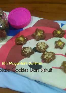 Kukis Coklat Dari Biskuit