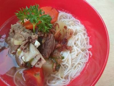 Sup (bukan) Buntut Misoa #FestivalResepAsia #Indonesia #Sapi