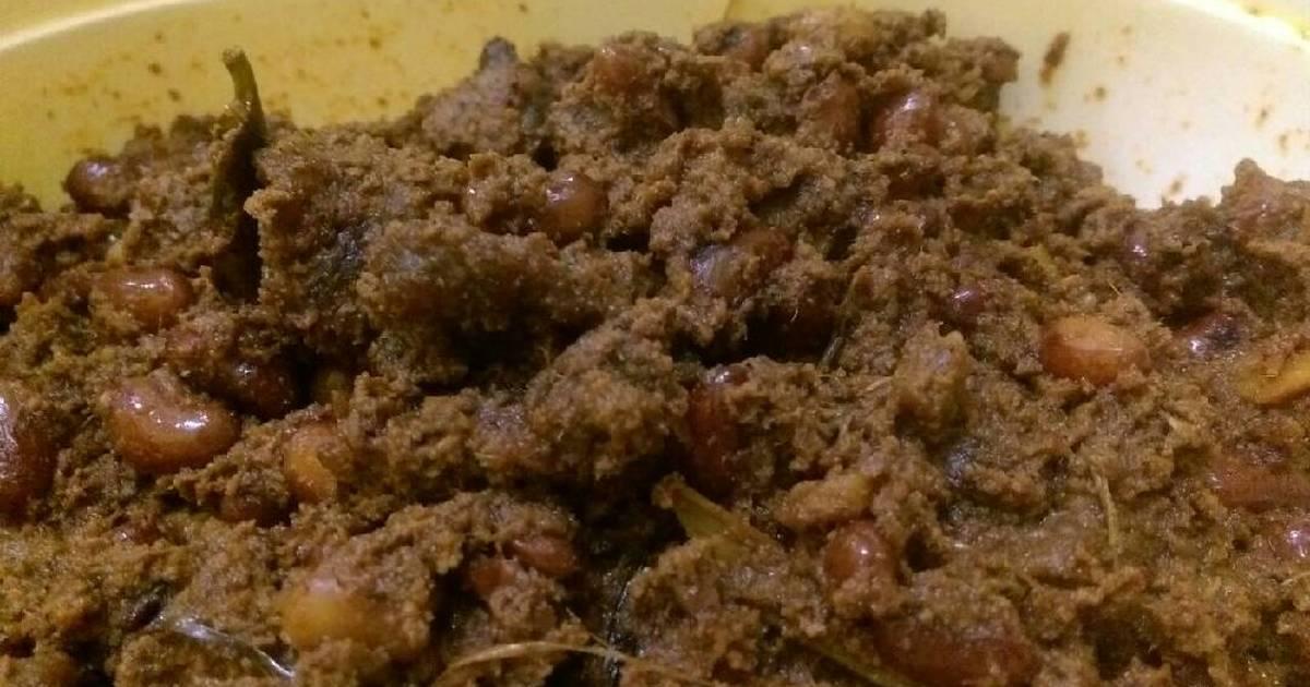36 resep rendang daging kacang merah enak dan sederhana