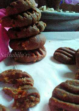 Cookies coklat kacang teflon (lagi)