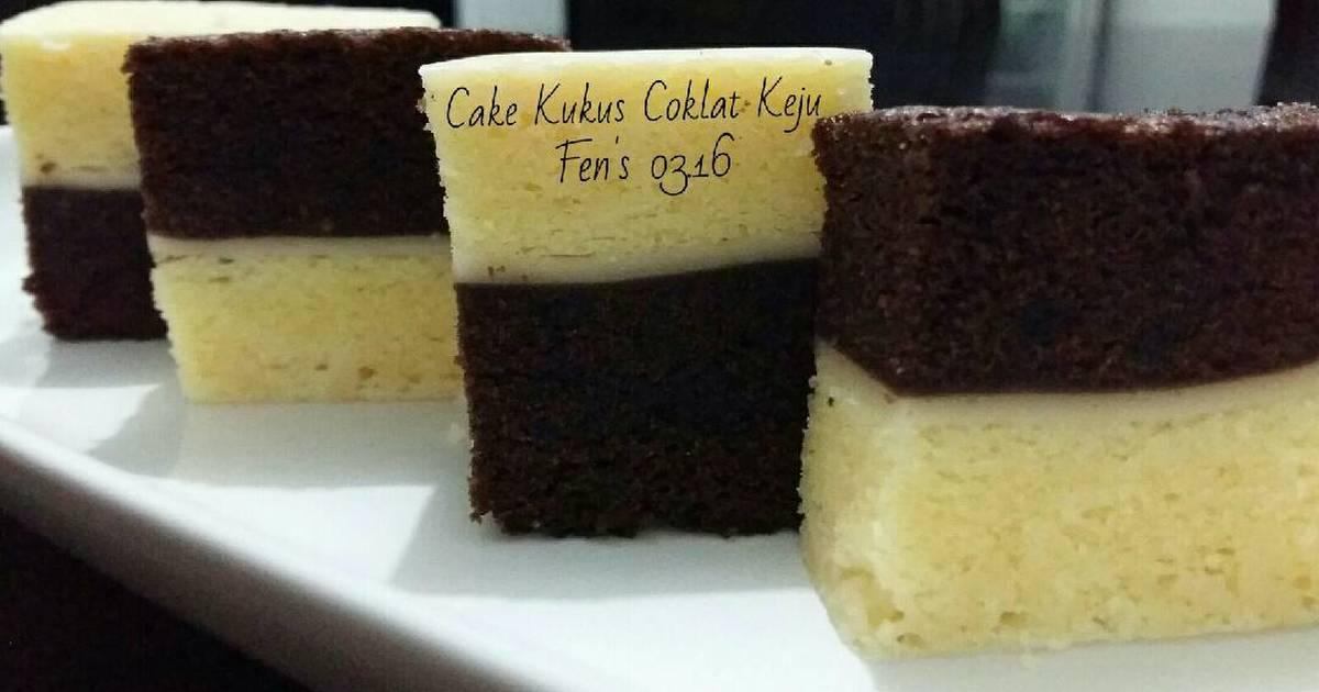 Resep Kue Lebaran: Resep Cake Kukus Coklat Keju
