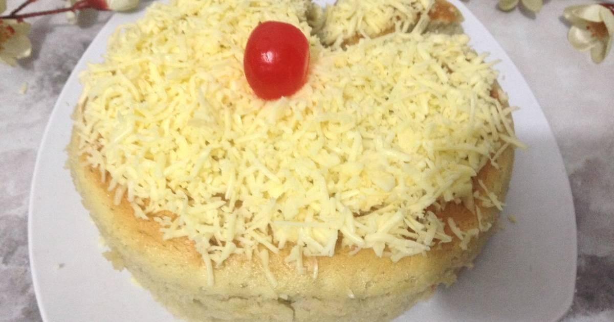 Resep Chiffon durian / durian cotton cake