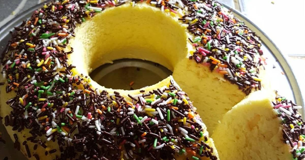 Resep Sponge Cake Jepang: 49 Resep Sponge Cake Kukus Enak Dan Sederhana