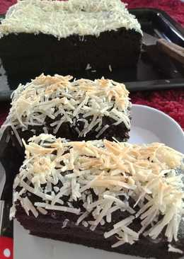 Choco cheese chewy brownies