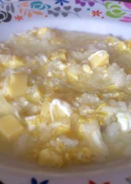 Sup Telur & Tofu Sibocil