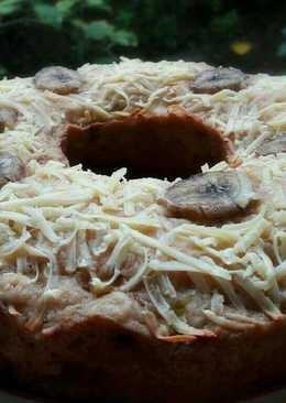 Eggless banana cake yummiii