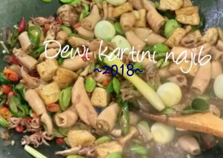 Resep Cumi Asin Cabe Ijo Pete Oleh Dewi Kartini Najib Cookpad
