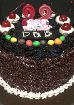 Black Forest Cake Ultah
