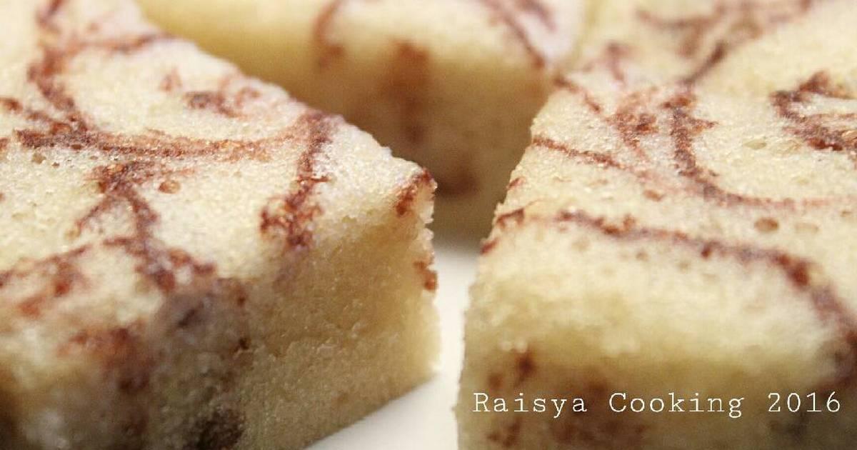 Resep Cake Bolu Simple serba 3 sendok (1 telur)