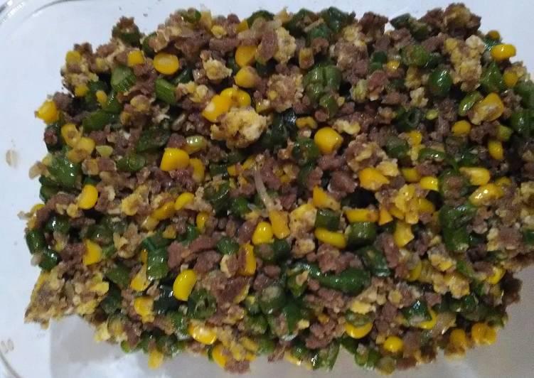 gambar untuk resep Daging giling orak-arik