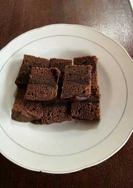 Brownies Keju simple anti gagal