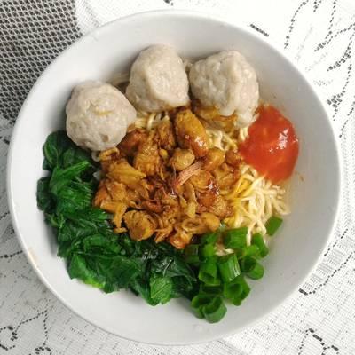 Mie Ayam Ala Gerobak (resep by. Xanderskitchen)