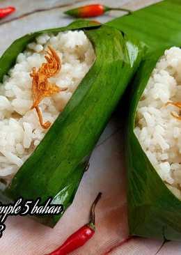 Nasi uduk simple 5 bahan ala anak kost