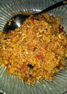 Resep pemula Nasi goreng ikan cakalang