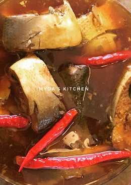 Ikan bandeng pindang kecap
