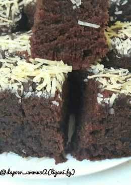 Cake Coklat Moist Eggless No Mixer