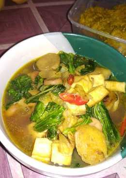 Tumis sawi tahu bakso (sayur kulkas) 😂