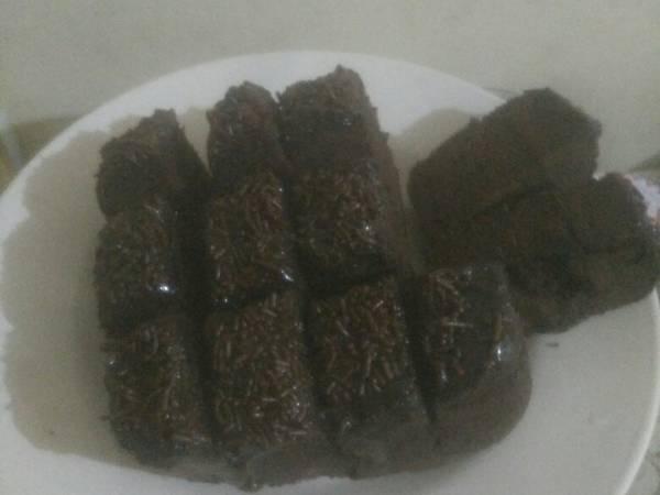 Brownies coklat meses