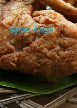 Ayam Goreng krispi tdk keras