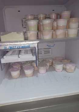 Ice cream homemade ekonomis dan lembut