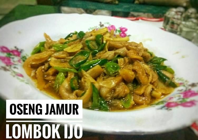 Resep Oseng jamur lombok ijo Oleh Herwien Rahmantyo