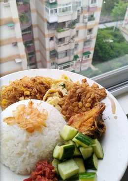 Nasi uduk rice cooker Simple Endesss