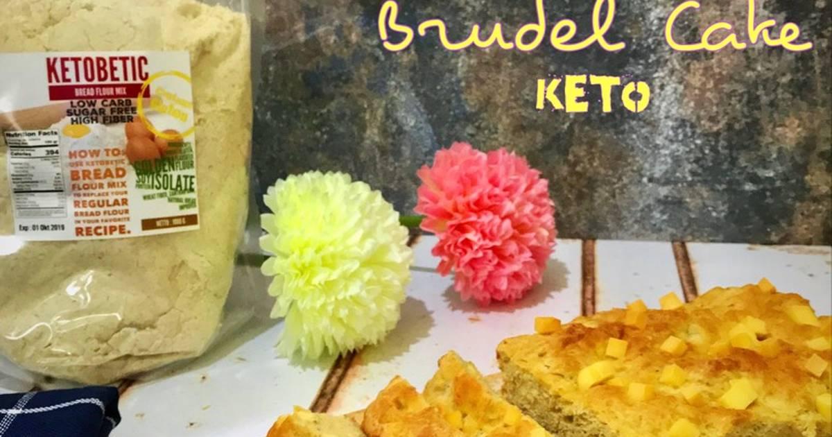 Resep Cake Keju Keto: Resep Brudel Cake-Keto Oleh Joanne Sebastian